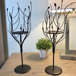 🎉HOST PICK🎉✨✨Metal Branches Pillar Candle Holder